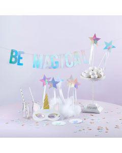 Enchanted Unicorn 49 piece Party Decor Kit