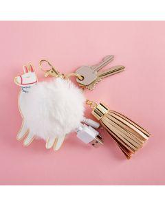 Llama USB Keychain