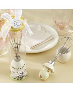 About to Hatch Stainless Steel Egg Whisk in Showcase Gift Box