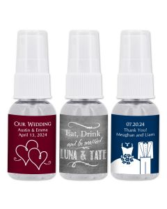 Personalized Hand Sanitizer - Silhouette Collection - 1oz Spray