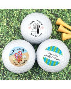 Golf Ball Wedding Favors