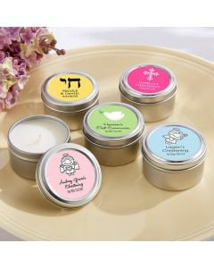 Candle Tin - Religious (Available Personalized)