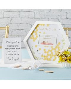 Baby Shower Guest Book Alternative - Sweet as Can Bee