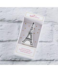 Eiffel Tower Ceramic Bottle Stopper