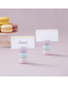 Macaroon Place Card Holder (Set of 6)
