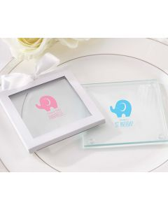 Personalized Glass Coaster - Little Peanut (Set of 12)