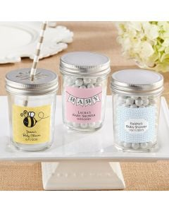 Mason Jar with Your Choice of Lid (Set of 12)