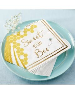 Sweet as Can Bee Paper Napkins (Set of 30)