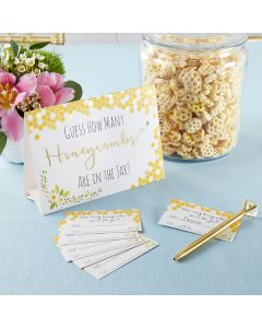 Sweet as Can Bee Advice Card & Baby Shower Game (Set of 50)