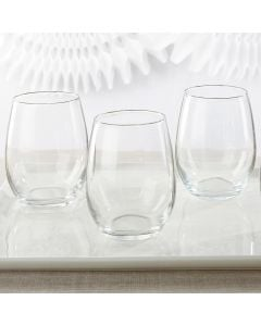 15 oz. Stemless Wine Glass - DIY
