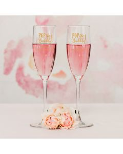 Classic Champagne Glass - Personalized