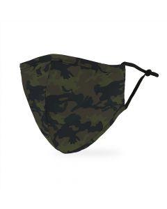 Adult Protective Cloth Face Mask - Camo
