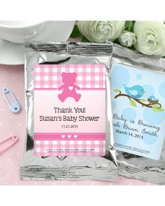 Baby Coffee Favors (Silver)