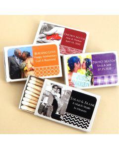Photo Matches - Set of 50 (White Box)