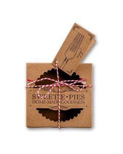 """""""Sweetie Pies"""" Mini Pie Packaging Kits (20)"""