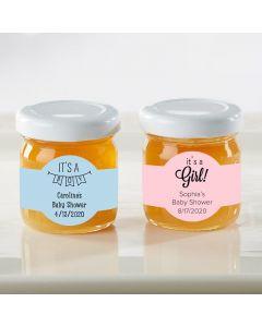 Personalized Honey Jar - Baby Shower (Set of 12)