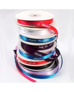 Personalized And Plain Ribbon