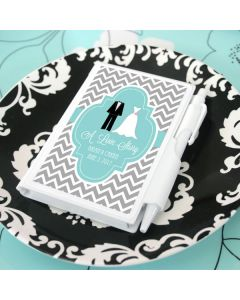 A Love Story Personalized Theme Notebook Favors