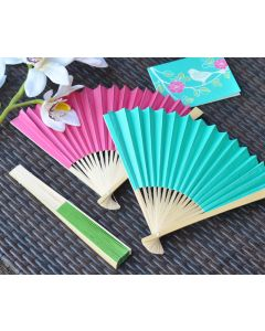 Colored Paper Fans