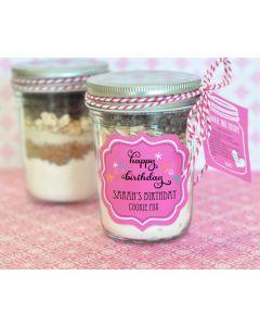 Birthday Mini Mason Jars