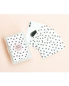 Confetti Hearts Playing Cards