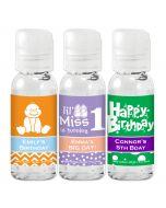 Kids Birthday Hand Sanitizer Favors Gel