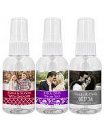Photo Hand Sanitizer Favors - 2oz Spray